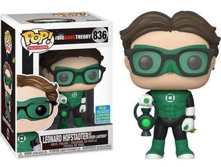 Funko Pop Leonard As Green Lantern 836 Original Nuevo