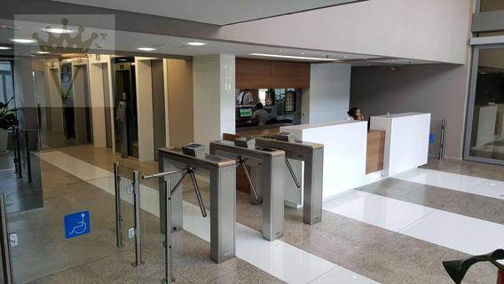 Sala Para Alugar, 316 M² Por R$ 17.000/mês - Chácara Santo Antônio - São Paulo/sp - Sa0034