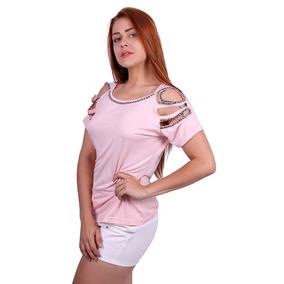 Blusa Com Brilho B & J Fash - Asya Fashion