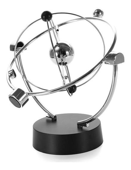 Pêndulo Giratório Magnético - Pêndulos De Newton Decoração