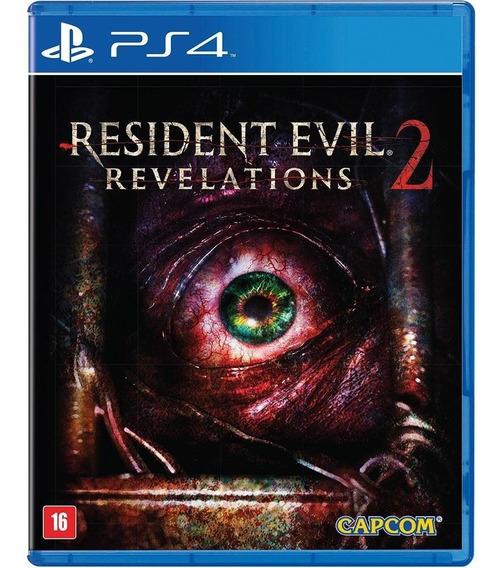 Jogo Resident Evil Revelations 2 Ps4 Midia Fisica Original