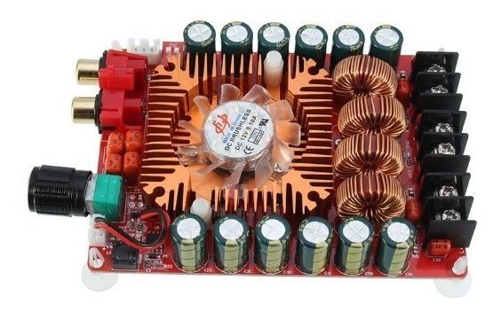 Placa Amplificador 2.0 160+160 320w Rms Caixa Ativa Full
