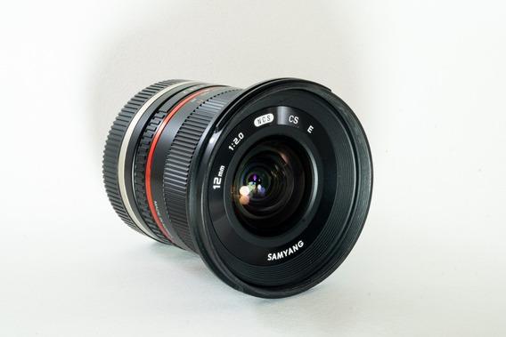 Lente Samyang 12mm F2 P/sony E Mount