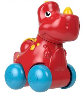 Dinosaurio De Juguete T-rex Fisher Price Color Rojo