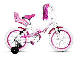 Bicicleta Topmega Princess Rodado 16 Niña