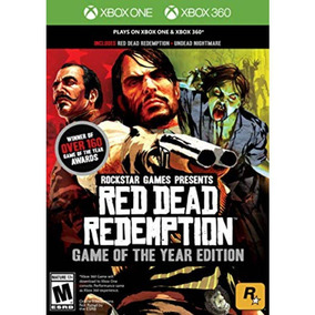 Red Dead Redemption Game Of The Year Xbox 360 / Xone