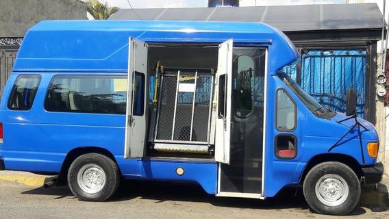 Autobus Ford Diesel, Rampa Minusvalidos, Silla De Ruedas