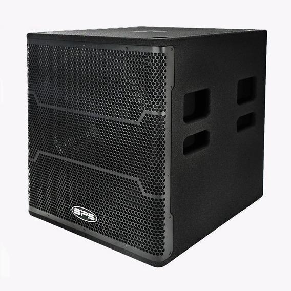 Bajo Amplificado Sps 18pw 4000 W 18 Pulgadas Profesional