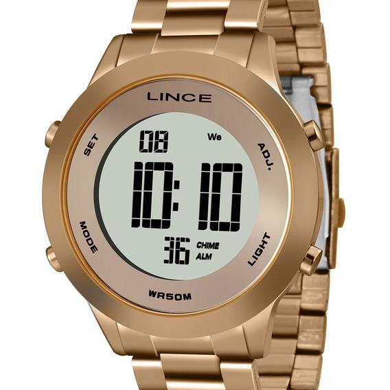 Relógio Lince Digital Feminino Original Sdrh037l Bxrx C/ Nfe