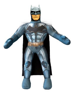 Muñeco Soft Batman Con Capa Justice League New Toys 46 Cm