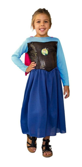 Disfraz Elsa Anna Anafrozen Disney New Toys Mi Cielo Azul