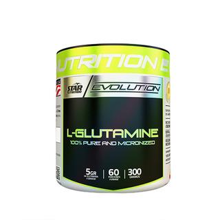 Glutamina Star Nutrition 300 Grs - 100% Pura Y Micronizada