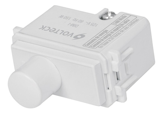 Dimmer Giratorio Blanco Italiana Voltech 48138