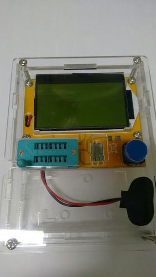 Testador Componentes Medidor Esr Lcr Capacimetro C Gabinete