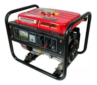 Gerador De Energia A Gasolina 4t 1200w 110vt Motomil-mg1200