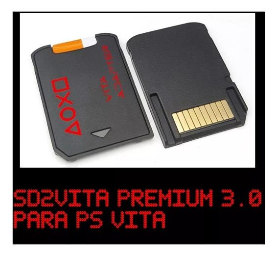 Adaptador Micro Sd Para Ps Vita Psvita Sd2vita Premium 3.0