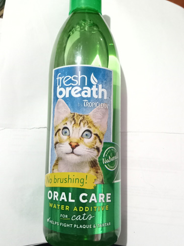 Oral Care Aditivo Para El Agua Gatos 16oz 473ml Fresh Breath