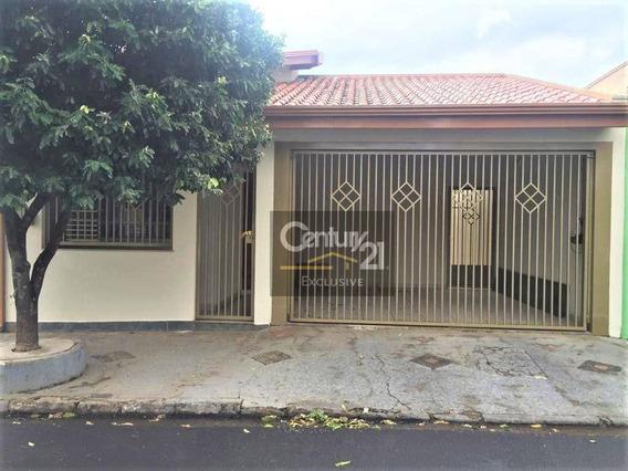 Casa Para Alugar, 100 M² Por R$ 1.800,00/mês - Vila Georgina - Indaiatuba/sp - Ca0667