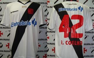 Camisa Futebol Vasco Penalty # 42 R.coelho 2010 S/habibs