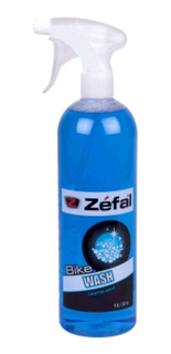 Limpiador Líquido Bike Wash Zéfal + Atomizador - 1 Litro