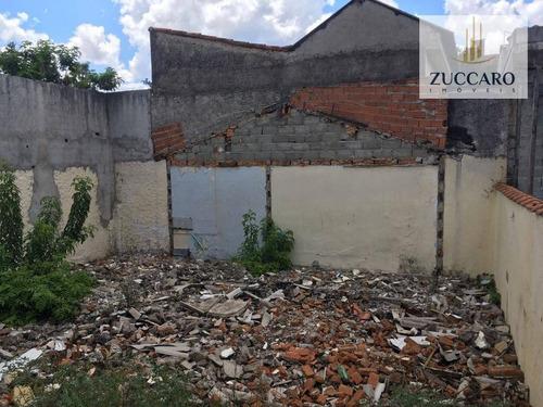 Terreno À Venda, 400 M² Por R$ 600.000,00 - Vila Nilo - São Paulo/sp - Te0649