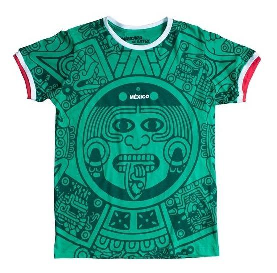 Playera Hombre México 98 Selección Mexicana Máscara De Látex