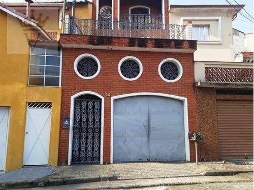 Casa Com 3 Dormitórios À Venda, 240 M² Por R$ 555.000,00 - Vila Isolina Mazzei - São Paulo/sp - Ca0409