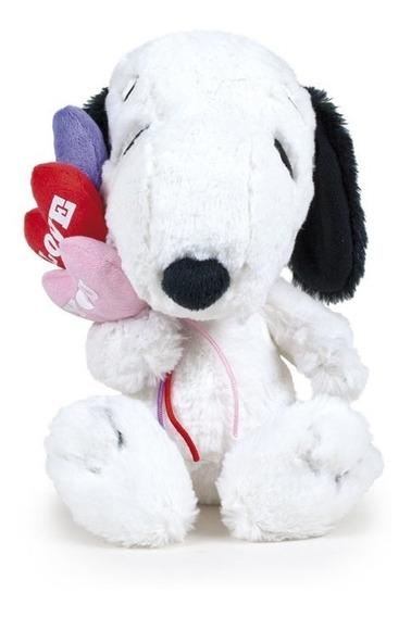 Snoopy Valentin 23 Cm 3 Corazones