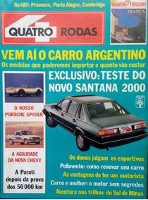 Revista 4 Rodas Nº 334 Maio 1988