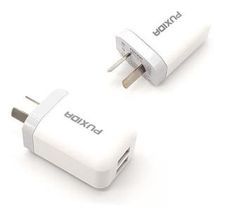 Cargador Celular Fast Charge Doble Usb 2.4a Samsung iPhone