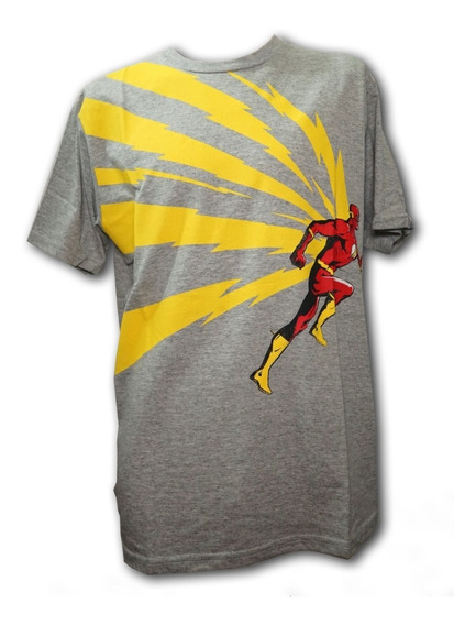 Remera, Dc, Flash High Contrast, Original Licencia Oficial