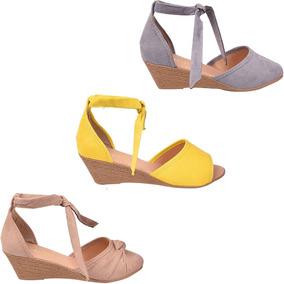 Sapato Scarpin Kit 03 Feminina Anabela Atacado 155vc