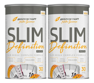 2x Slim Definition Pro-f 30 Pack - Body Action