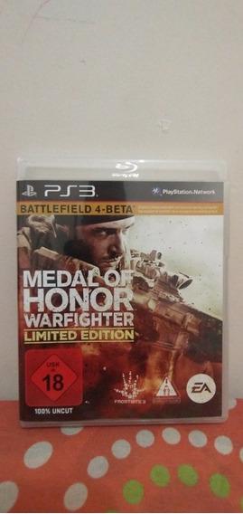 Jogo Medal Of Honor Warfighter Limited Edition Mídia Física