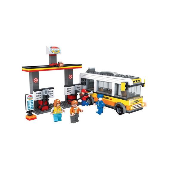 Brinquedo P/ Montar - Cidade Posto Gasolina - 324 Peças