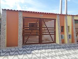 Casa Nova Com Dois Dormitórios Na Praia