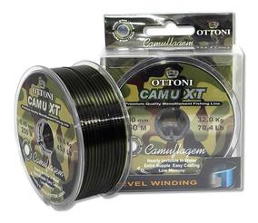 Linha Monofilamento Camu Xt 0,35mm 270m Quase Invisível