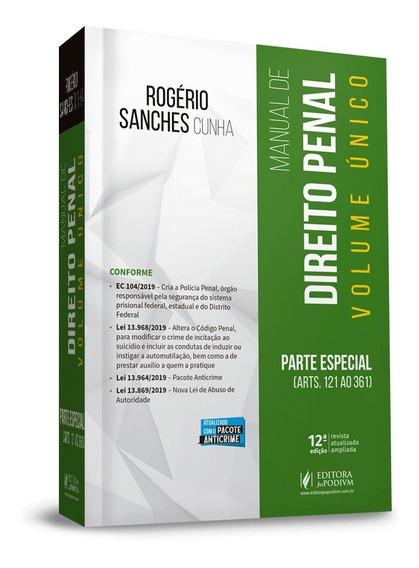 Manual De Direito Penal Parte Especial Vol. Unico (2020)