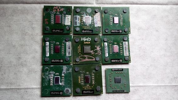 Processadores Lote 2 - 9 Peças
