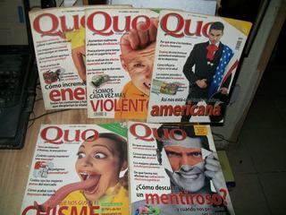 Pack De 5 Revistas De Quo