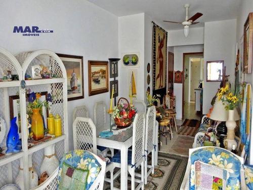 Imagem 1 de 11 de Apartamento Residencial Para Venda E Locação, Barra Funda, Guarujá - . - Ap10803