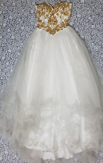 Vestido Boda Civil Graduación Xv Años Fiesta De Noche
