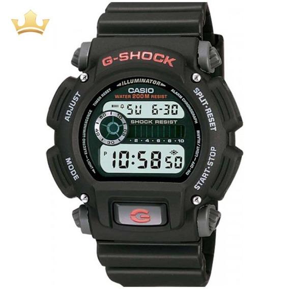 Relógio Casio G-shock Masculino Dw-9052-1vdr Com Nf