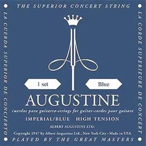 Encordoamento Violão Nylon Augustine Imperial Blue Nylon