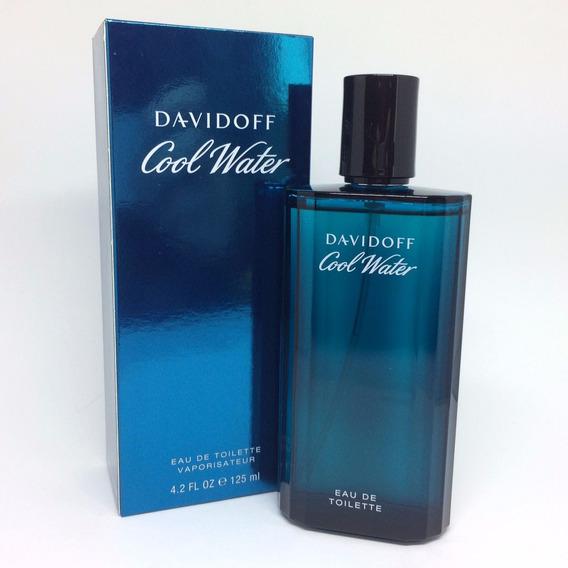 Davidoff Cool Water 125ml Masculino | Original + Amostra