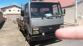 Ford Cargo 814, Prata, Ano 2000, Super Conservado.