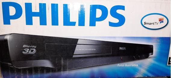 Blu-ray Smart 3d Phillips Dlna Netflix Acesso Internet