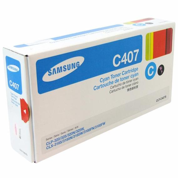 Toner Compatível Clt-c407s Azul Clp-3320 /clx-3305w Novo