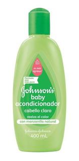 Acondicionador Bebe Manzanilla Johnson Cabello Claro 400 Ml