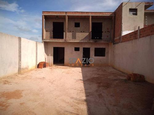 Imagem 1 de 12 de Casa Com 2 Dormitórios À Venda, 112 M² Por R$ 185.000,00 - Jardim São Caetano Ii - Rio Claro/sp - Ca0447